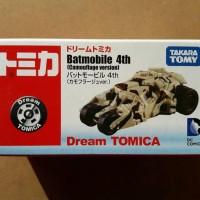 TOMICA DREAM - BATMAN BATMOBILE 4th CAMOUFLAGE TUMBLER VERSION