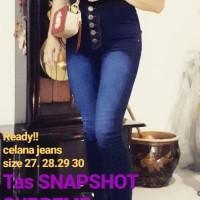Harga celana jins wanita high waist tinggi | Hargalu.com