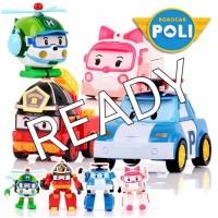 MAINAN POLI ROBOCAR 4IN1 SET / TRANSFORM MOBIL ROBOT 03 I
