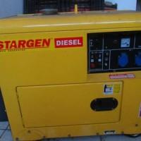 Portable Diesel Semi Silent Genset 4KVA/3 KW STARGEN (China)