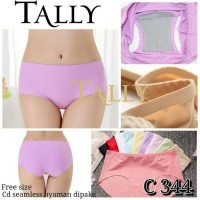 Tally Seamless Underwear/ Celana Dalam Best Quality/ CD Wanita Murah
