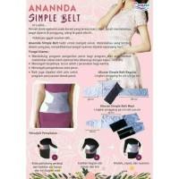 Anannda Simple Belt Maxi   Korset Wanita   Korset Pelagsing