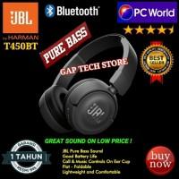 JBL T450BT / T 450BT Pure Bass Sound Bluetooth On-Ear Headphones