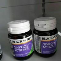 blackmores ginkgo action--40 kapsul--utk daya ingat dan konsentrasi