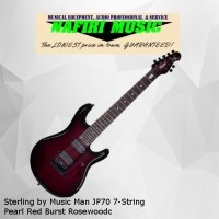 Sterling by Music Man JP70 7-String Pearl Red Burst Rosewood