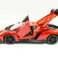 Mobil Rc Lamborghini Veneno Open Door ,Remote, Terlaris, Baterai Cas