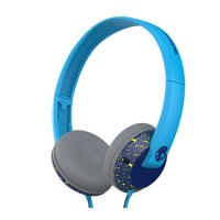 Skullcandy UpRock Headphone Cable 3.5mm With Mic (S5URFY-403) - Biru