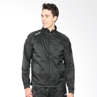 Kappa Track Suit Jacket Charcoal