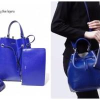 Harga tas wanita import furla stacy blue biru original promo murah sale t | Pembandingharga.com