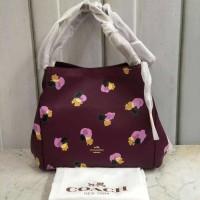 Harga tas wanita import coach floral ungu original promo murah sale ter | Pembandingharga.com