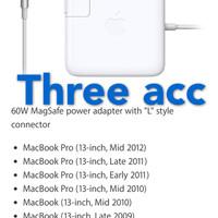 Charger Apple Macbook Pro A1278 - A1322 -A1185 - A1280 Series Original