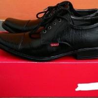 NEW Promo Sepatu Pantofel Kulit Bertali Grosir Termurah