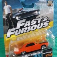 Jual Fast & Furious Plymouth Roadrunner 1970 Murah