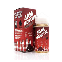 USA - JAM MONSTER - Strawberry - 100ml 3mg Premium Liquid Vape Vapor