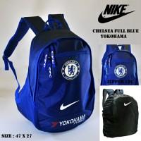 Tas Ransel Chelsea Biru Yokohama Adidas (tas olahraga, backpack sporty