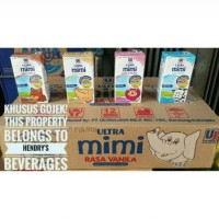 Jual Susu ultra mimi 125ml all variant Murah