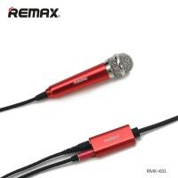Microphone Mini Untuk Aplikasi Karaoke Smule yokee red karaoke d T19