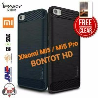 PAKET 2 IN 1 CASE HP XIAOMI MI5 MI 5 PRO Original Softshell Matte Ru