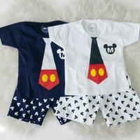 Jual Setelan Mickey Lucu / Setelan Anak / Baju Bayi Lucu Murah