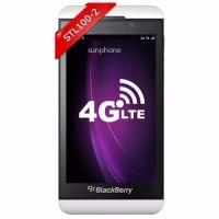 Murah Blackberry Z10 STL100 2 4G LTE Indonesia White Original Garans
