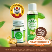 Jual Penumbuh Rambut Organic Obat Rontok & Ketombe   Cantiqa Kemiri Murah
