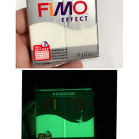Jual fimo effect glowing in the dark fosfor clay polymer clay Murah