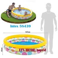 Kolam Renang Anak Wild Geometry Pool for Kids 1.47mx33cm - INTEX 58439