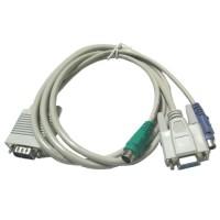 Kabel KVM 1 to 3 Female to Male 1.5 Meter (Kabel untuk KVM Switch)