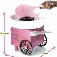 Jual Mesin Pembuat Kembang Gula Kapas (Cotton Candy Maker) Pink Murah