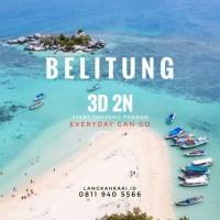 tour belitung 3d 2n / trip belitong / paket wisata