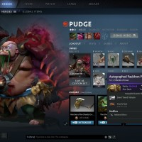 Pudge Customize Set With Signature And Kinetic Gem DotA 2