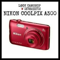 KAMERA DIGITAL CAMERA NIKON COOLPIX A300 NIKON A 300 - RED MERAH