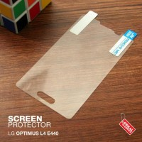 CASING CASE HP LG OPTIMUS L4 E440 ANTI GORES ANTI GLARE MINYAK GLEAR