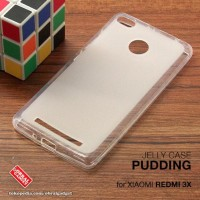 CASING CASE HP XIAOMI REDMI 3X SOFT JELLY GEL SILIKON SILIKON SOFT