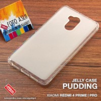 CASE CASING HP SOFT JELLY XIAOMI REDMI 4 PRIME PRO GEL SILIKON SILIKON