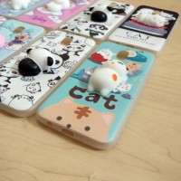 CASING CASE HP OPPO NEO 9 A37 SQUIS 3D CUTE SOFT SILIKON BACK COVER