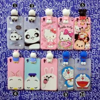 CASING CASE HP OPPO F3 A77 CUTE 3D DISNEY SOFT SILIKON BACK COVER