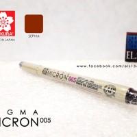 Jual Sakura Pigma Micron 005 Sephia Murah