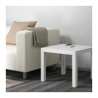 Jual GO SEND BEST SELLER IKEA LACK Meja samping, putih/hitam, 55x55 cm Murah