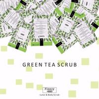 Jual DISKON  [ GREEN TEA ] FLEECY FACE & BODY SCRUB Murah