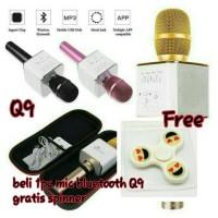 Jual Mic Portable Bluetooth Wireless Microphone Speaker Karaoke KTV Mic Murah