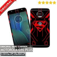 Jual Original! Motorola Moto G5S Plus Skin/Garskin for Case Superman/Custom Murah
