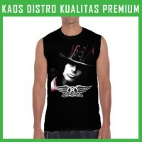 Jual Kaos Singlet/Tanpa Lengan Aerosmith 3 TPL-AFM27 Pria Murah