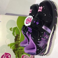 Sepatu anak DISNEY My Little Pony Black Purple Star Power Twilight