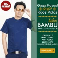 Jual [ORIGINAL]Kaos Polos Katun Bambu Premium Bukan Combed 30s atau Gildan Murah