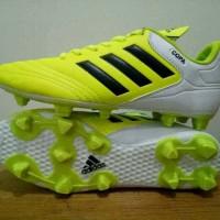 sepatu bola pria adidas copa kuning putih terbaru