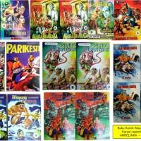 10 Judul komik wayang karya RA Kosasih , Unik & Langka - Mahabharata -