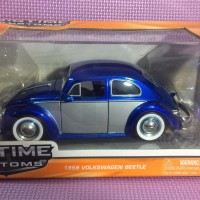 59' VW Beetle (Blue Silver) Jada Bigtime Kustoms skala 1/24