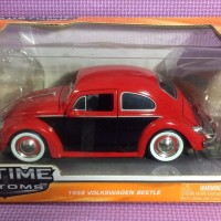 59' VW Beetle (Red Black) Jada Bigtime Kustoms skala 1/24