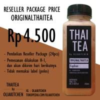 Jual Original Thai Tea (RESELLER) Murah